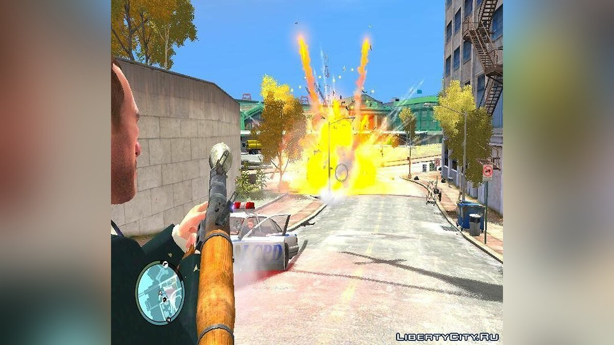 Real Explosions v3 (RETRY) FINAL для GTA 4