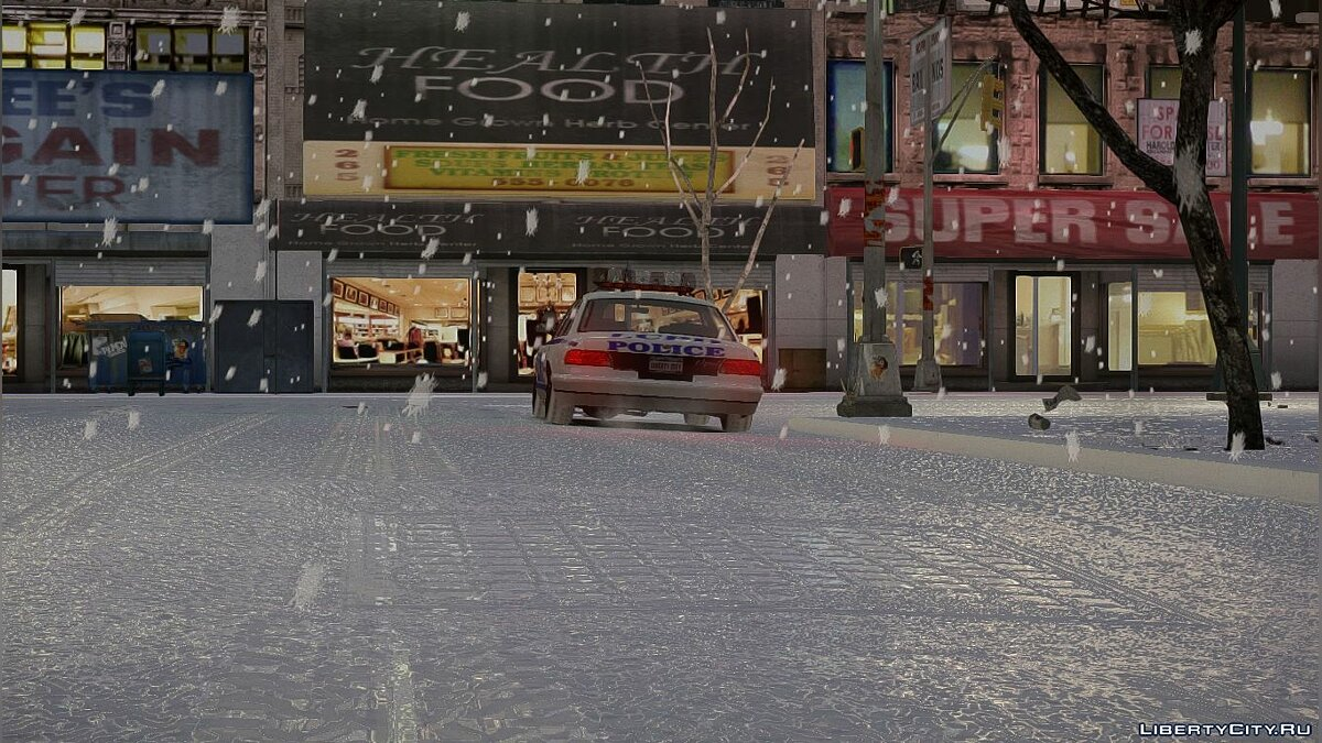 Snowfalls v2.0 CHRISTMAS Edition [GTA IVEFLC] для GTA 4 - Картинка #3