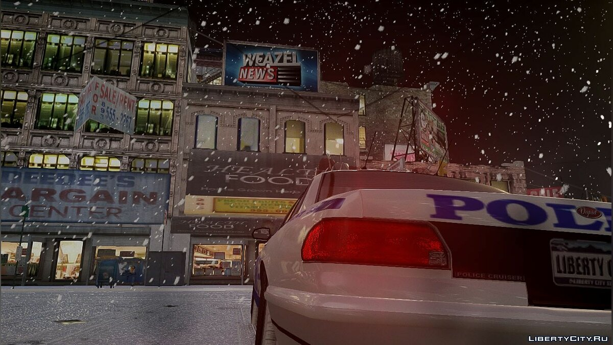 Snowfalls v2.0 CHRISTMAS Edition [GTA IVEFLC] для GTA 4 - Картинка #7