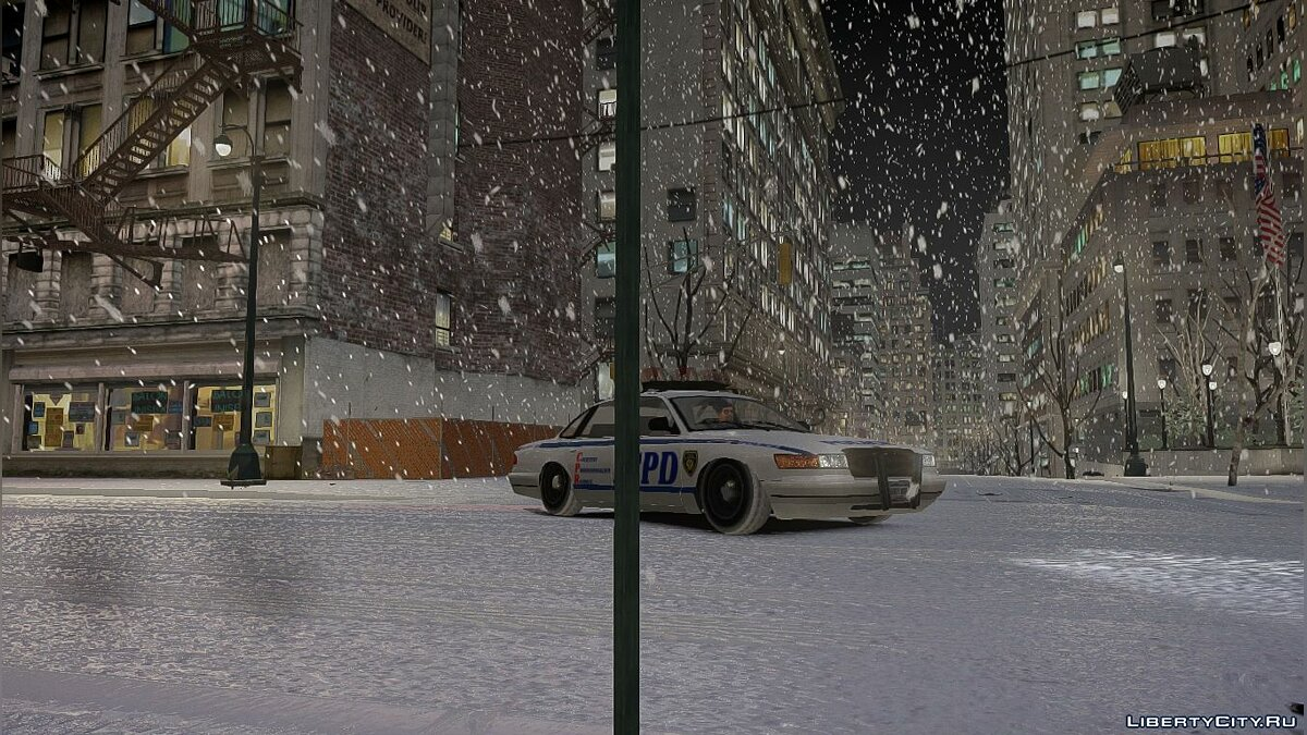 Snowfalls v2.0 CHRISTMAS Edition [GTA IVEFLC] для GTA 4 - Картинка #4