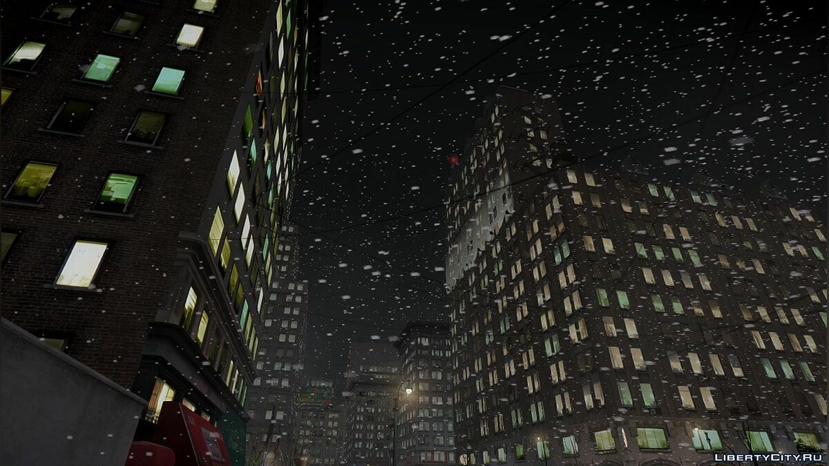 Snowfalls v2.0 CHRISTMAS Edition [GTA IVEFLC] для GTA 4 - Картинка #1