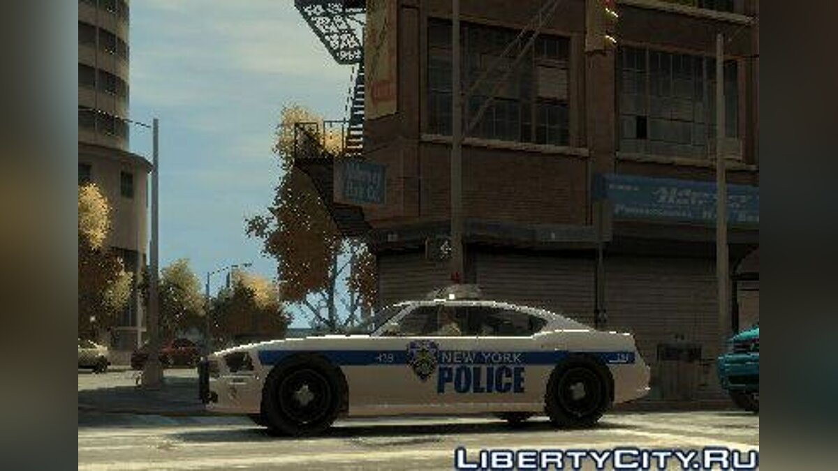 NYPD Police Dodge Charger для GTA 4