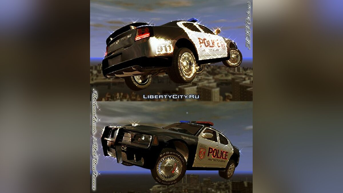 Police Cruiser Dodge Charger SRT8 для GTA 4