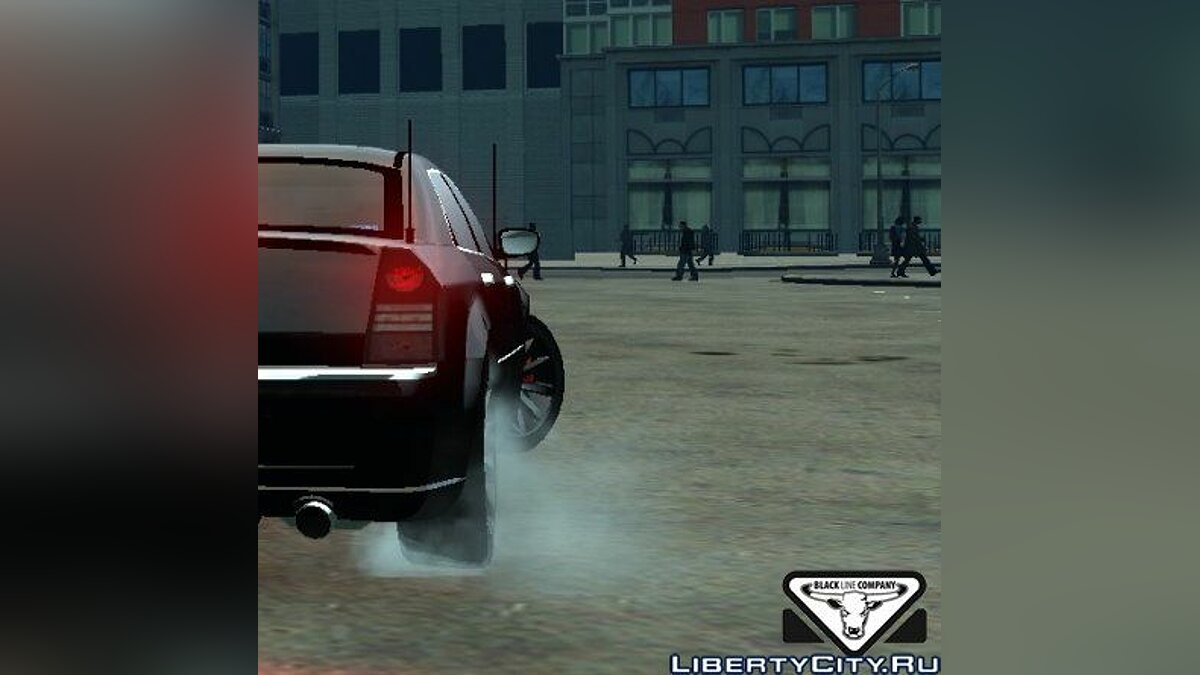 Chrysler 300c FBI Edition для GTA 4