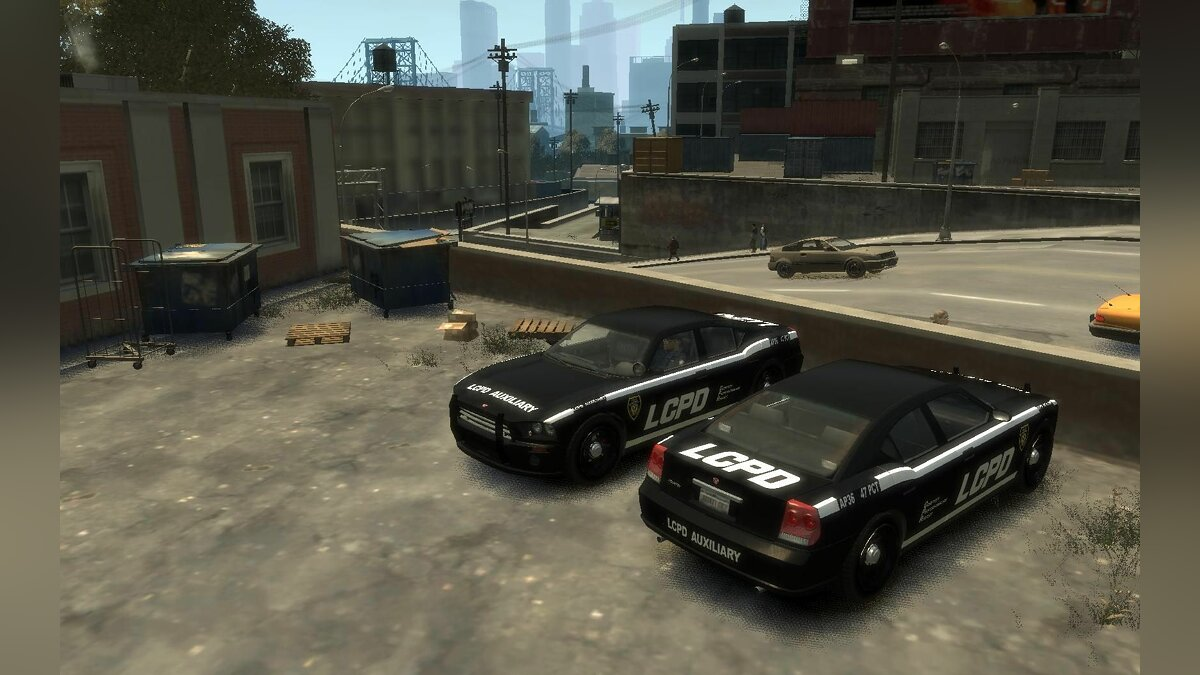 New FBI & Police Buffalo для GTA 4