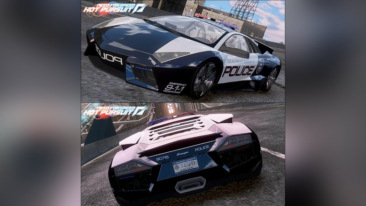 Lamborghini Reventón Police Hot Pursuit для GTA 4