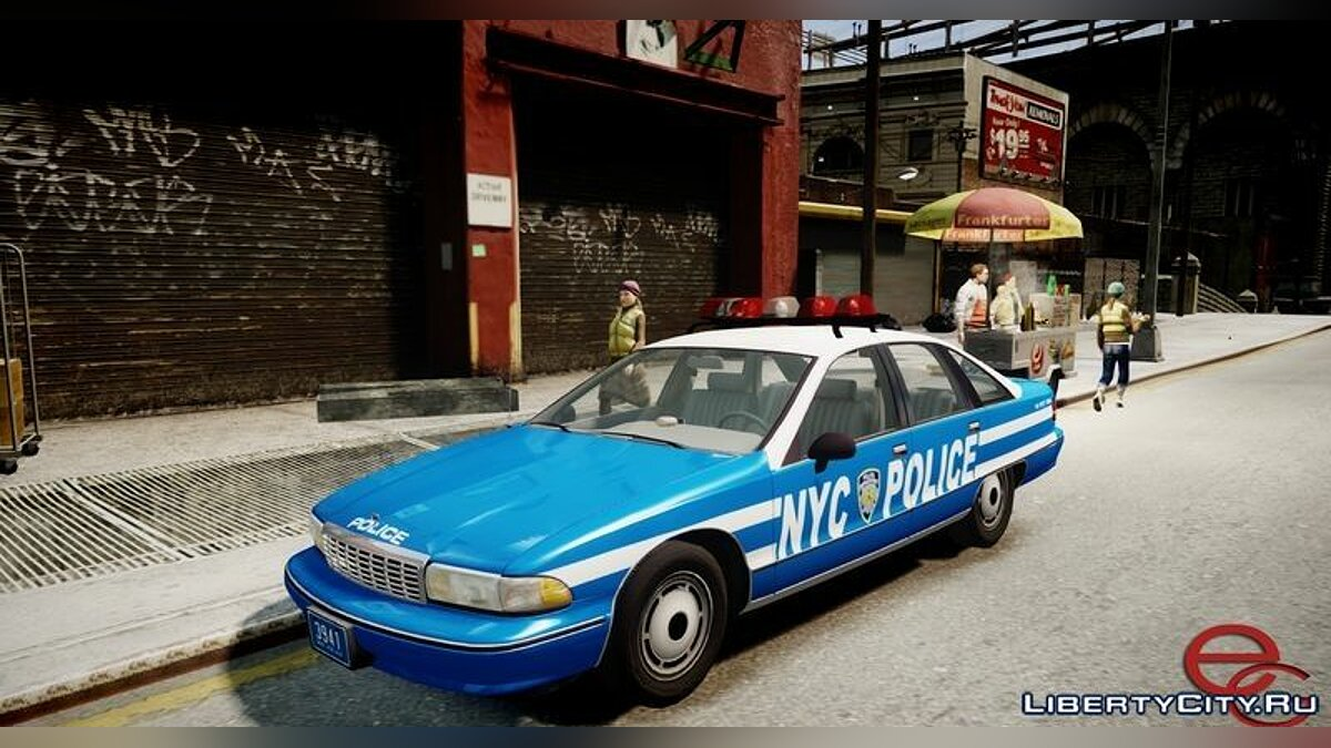 Chevrolet Caprice 1991 NYPD/LCPD для GTA 4