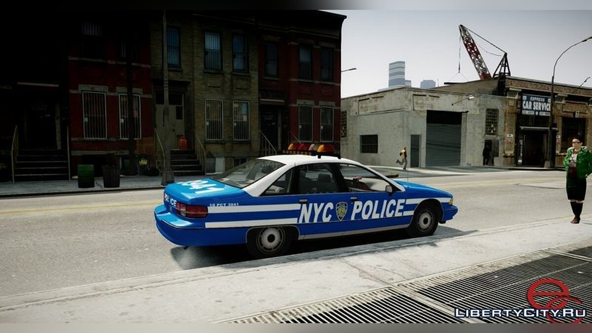 Chevrolet Caprice 1991 NYPD/LCPD для GTA 4 - скриншот #2