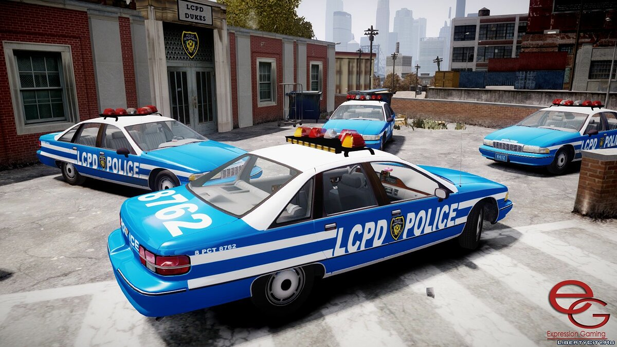 Chevrolet Caprice 1991 NYPD/LCPD для GTA 4 - скриншот #3