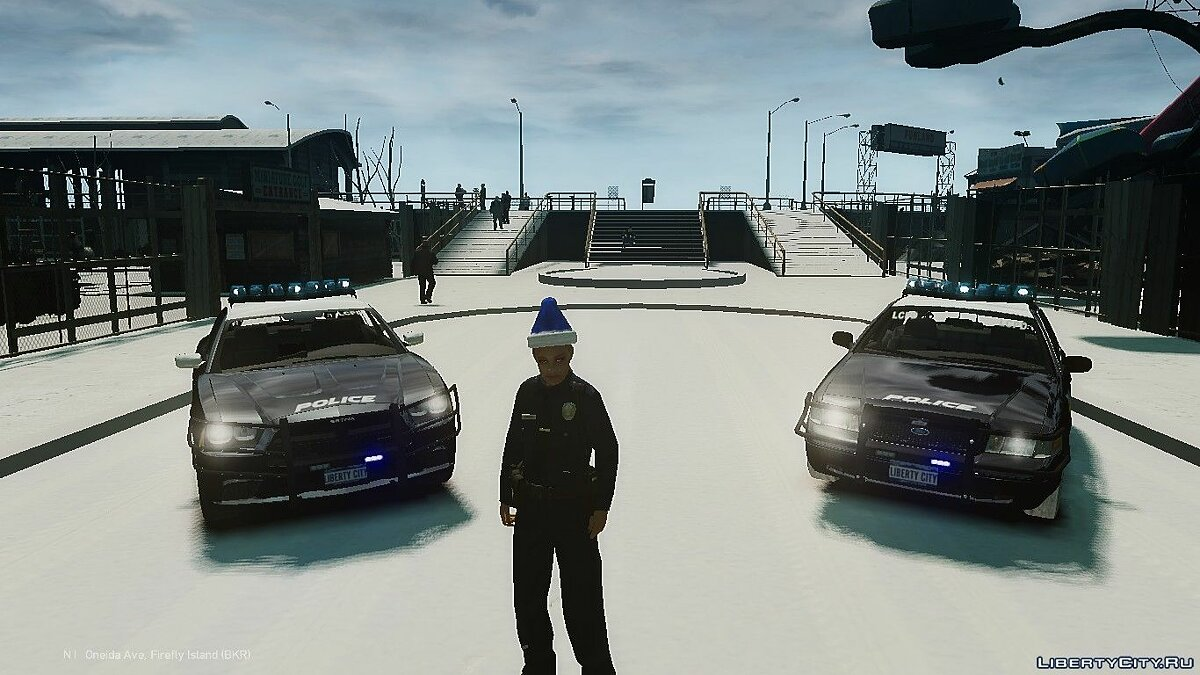 Ford CVPI and Dodge Charger police pack для GTA 4