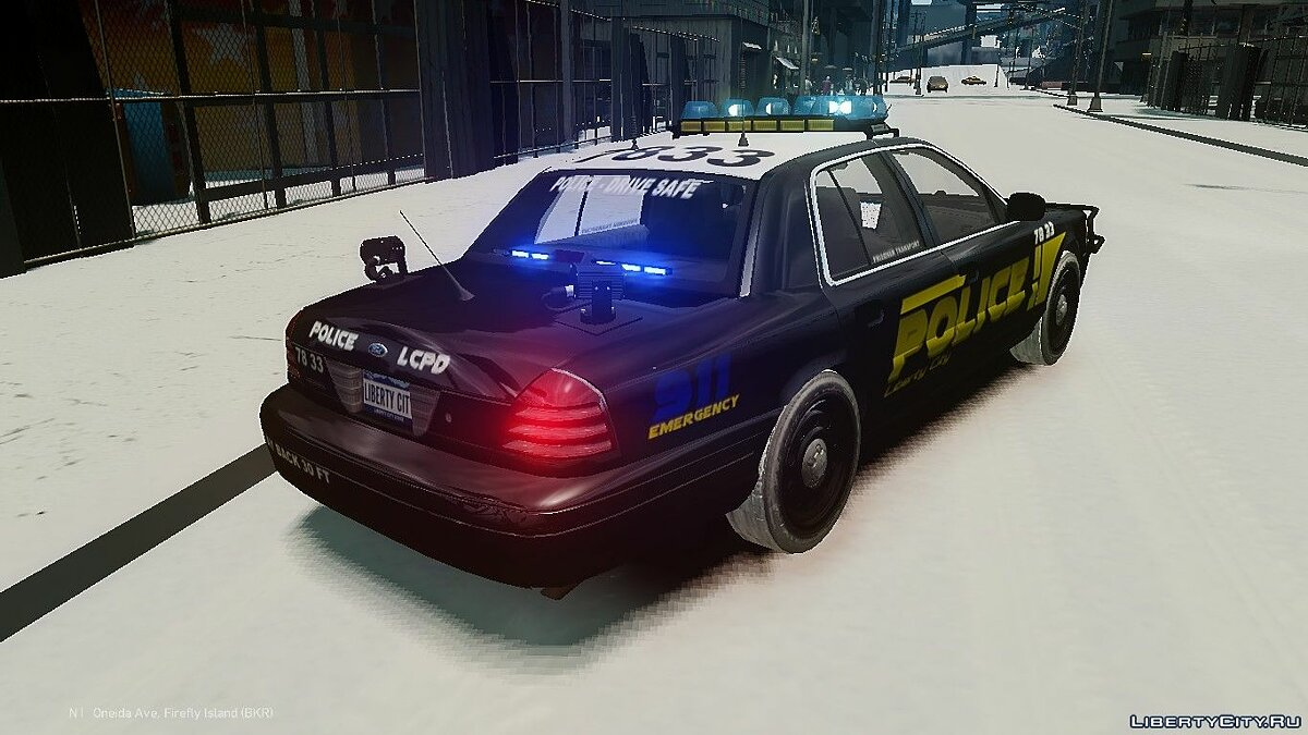 Ford CVPI and Dodge Charger police pack для GTA 4 - скриншот #3