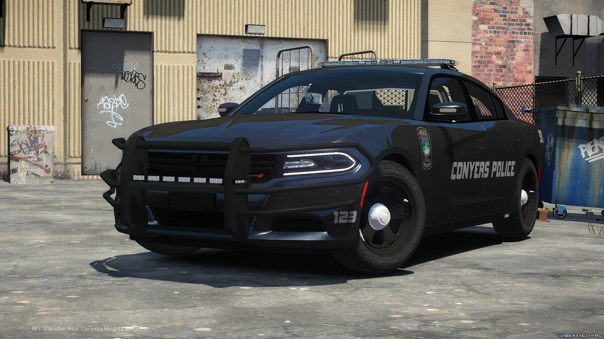 Машина полиции Dodge Charger 2015 Conyers Police Department для GTA 4