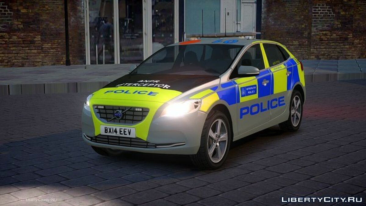 2014 Met Police Volvo V40 Area Car для GTA 4