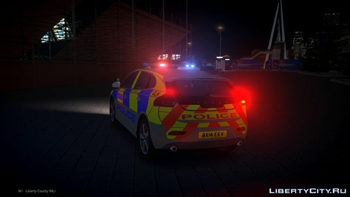 2014 Met Police Volvo V40 Area Car для GTA 4 - скриншот #4