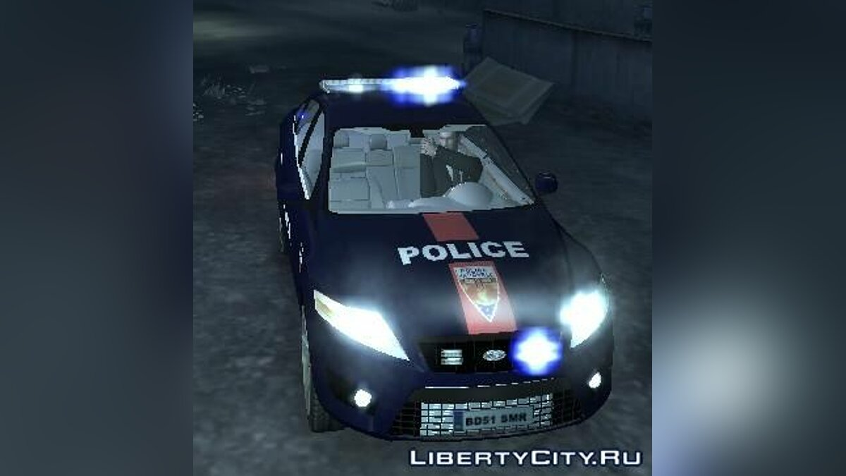 Ford Mondeo Police Nationale для GTA 4 - скриншот #3