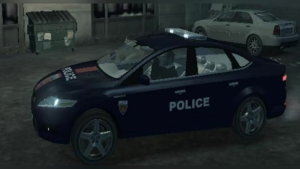 Ford Mondeo Police Nationale для GTA 4 - скриншот #2