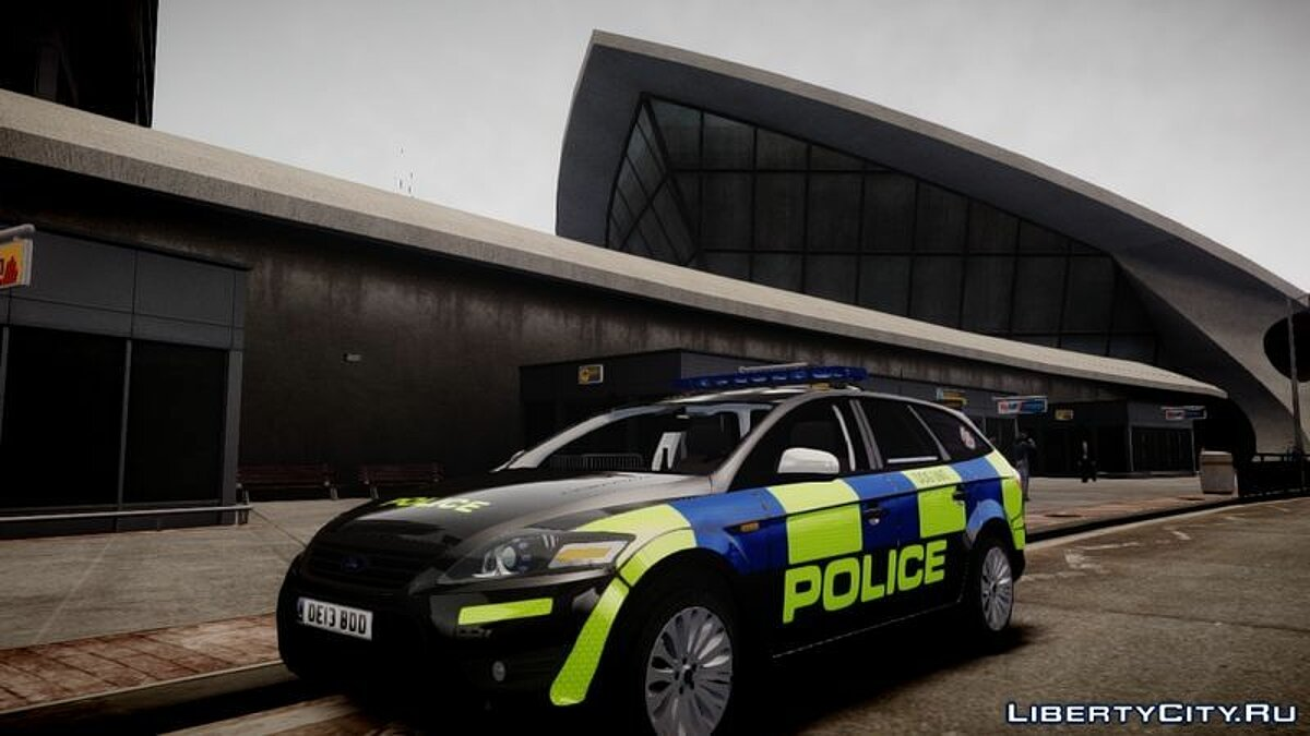Essex Police Ford Mondeo Estate Dog Unit для GTA 4