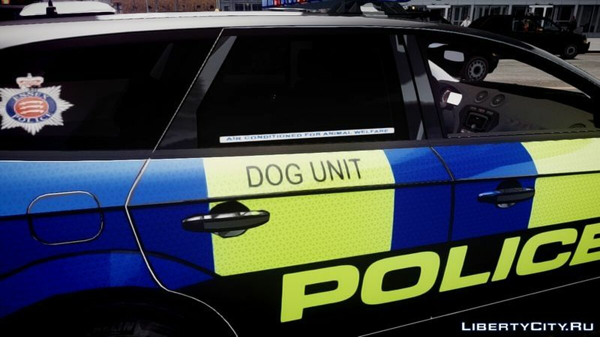 Essex Police Ford Mondeo Estate Dog Unit для GTA 4 - скриншот #3
