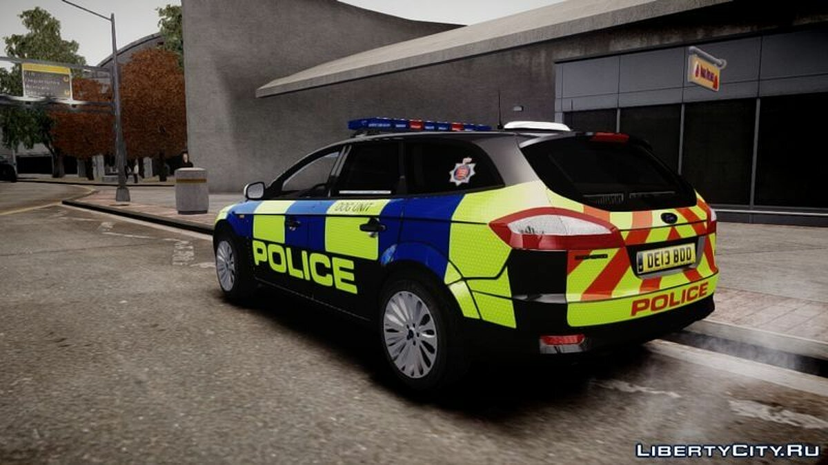 Essex Police Ford Mondeo Estate Dog Unit для GTA 4 - скриншот #2