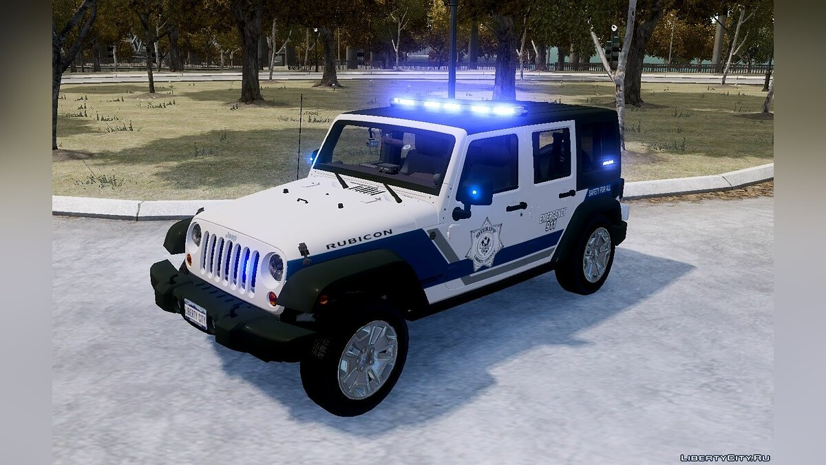 2013 Jeep Wrangler Unlimited Rubicon Police Edition ELS для GTA 4