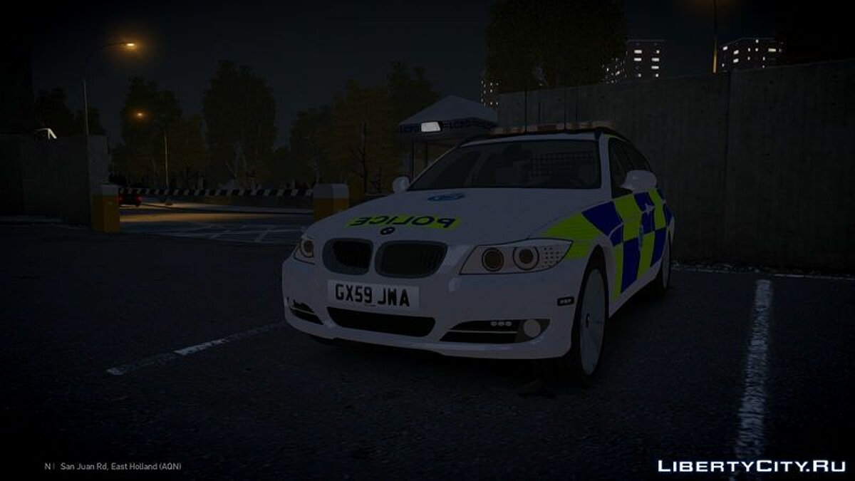 Sussex Police BMW 3 Series Touring для GTA 4