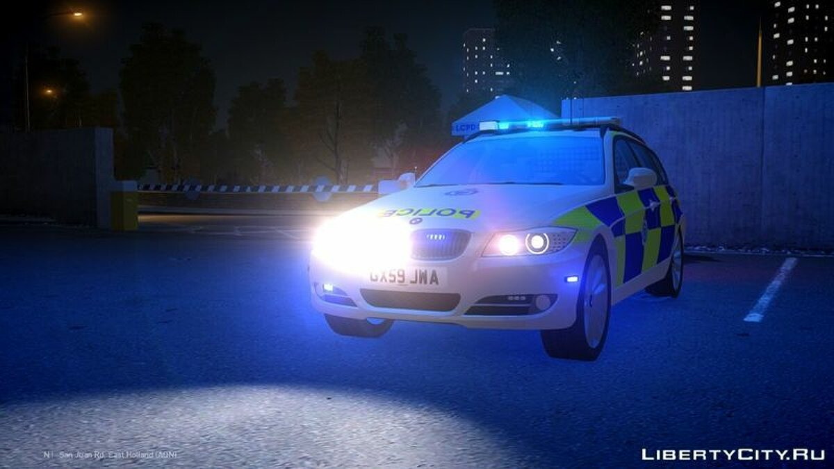 Sussex Police BMW 3 Series Touring для GTA 4 - скриншот #4