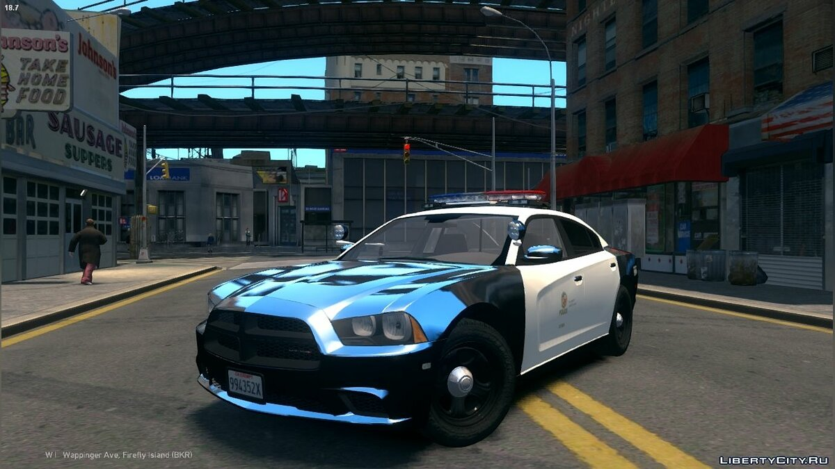 2013 LAPD Dodge Charger PPV V3.5 для GTA 4