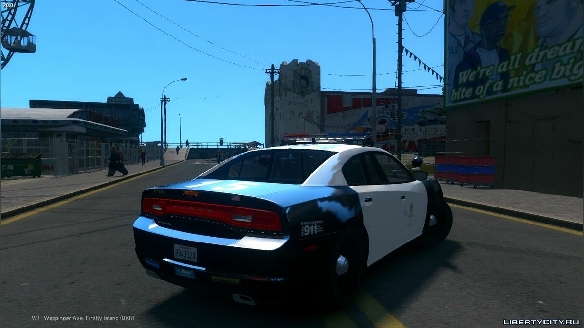 2013 LAPD Dodge Charger PPV V3.5 для GTA 4 - скриншот #2