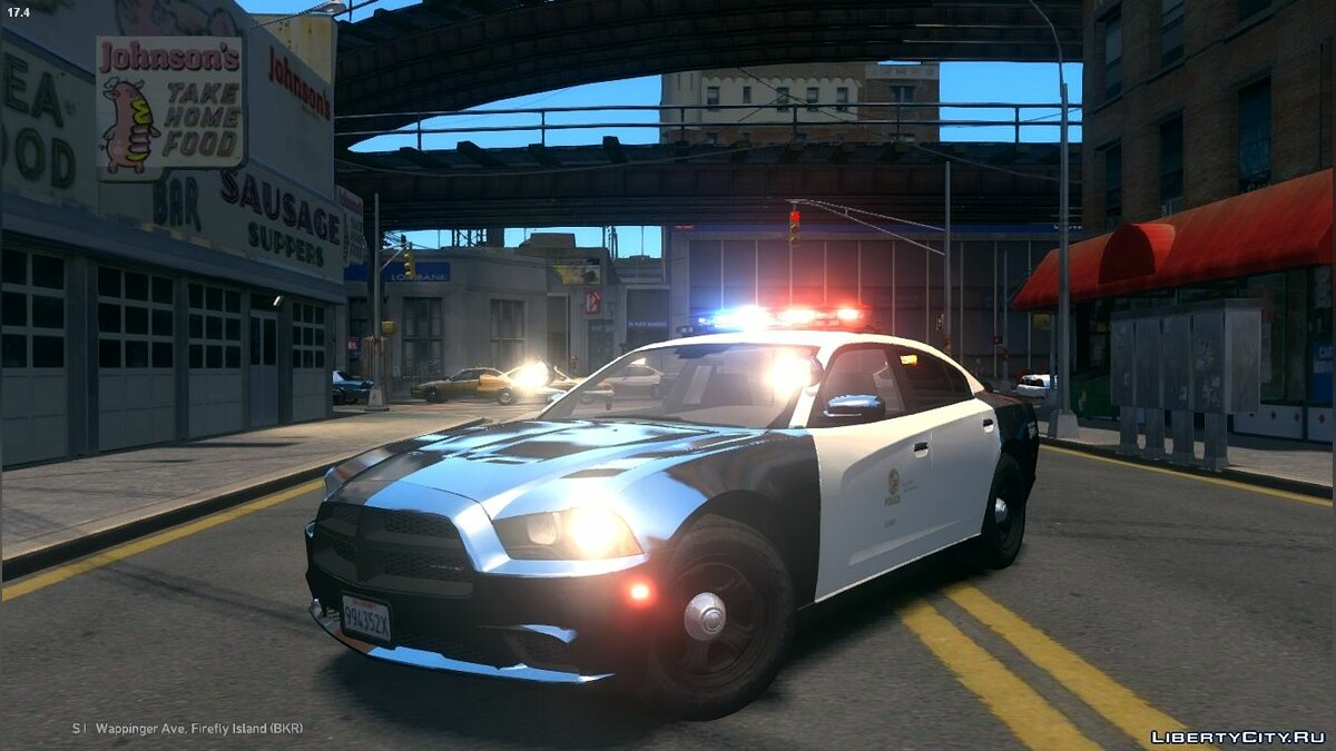 2013 LAPD Dodge Charger PPV V3.5 для GTA 4 - скриншот #3