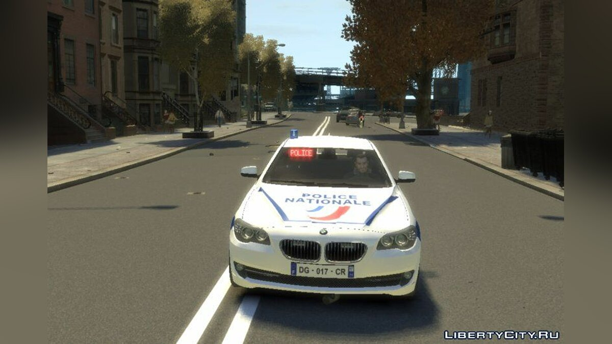 BMW Police Nationale для GTA 4