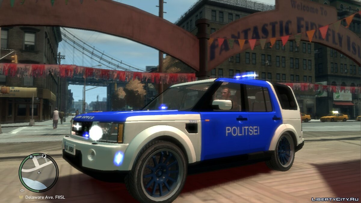 Estonian Police Discovery 4 Land Rover для GTA 4 - Картинка #1