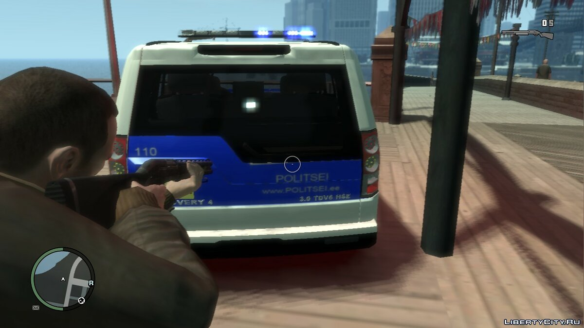 Estonian Police Discovery 4 Land Rover для GTA 4 - Картинка #2