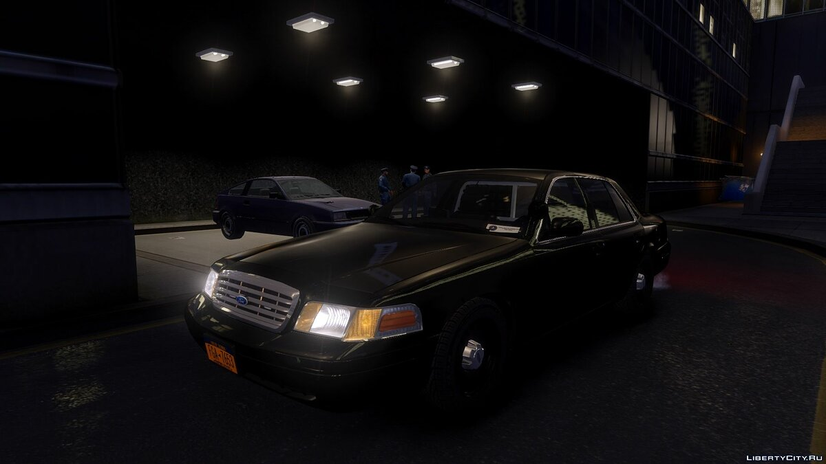 1999 Ford Crown Victoria Unmarked для GTA 4 - Картинка #1