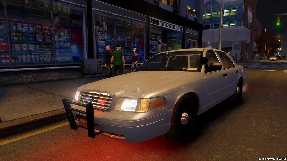 1999 Ford Crown Victoria Unmarked для GTA 4 - Картинка #4