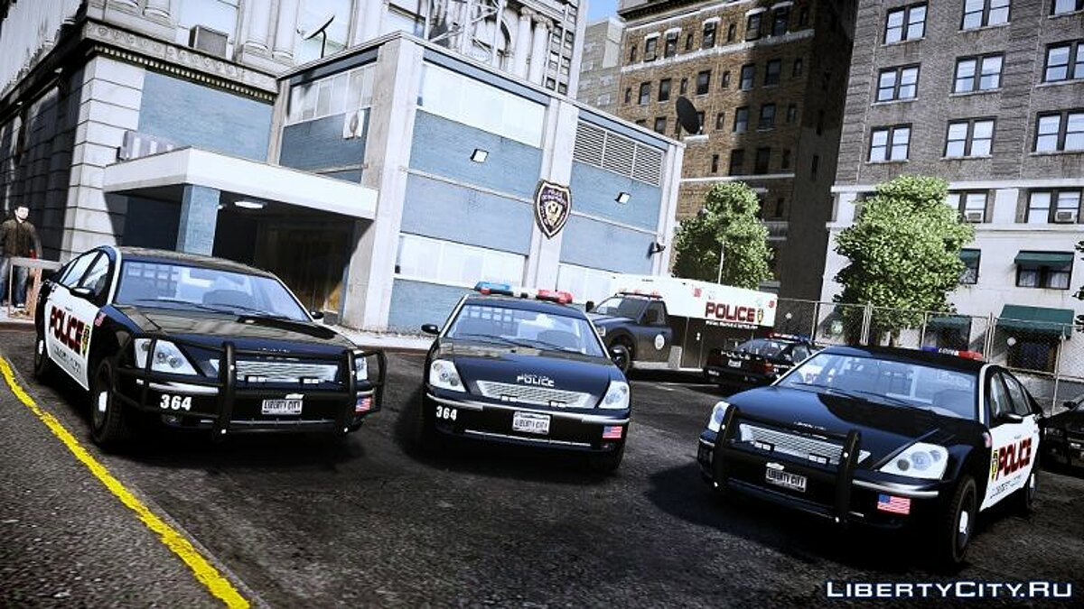 Машина полиции Pinnacle Police (LCPD) 1.0 для GTA 4