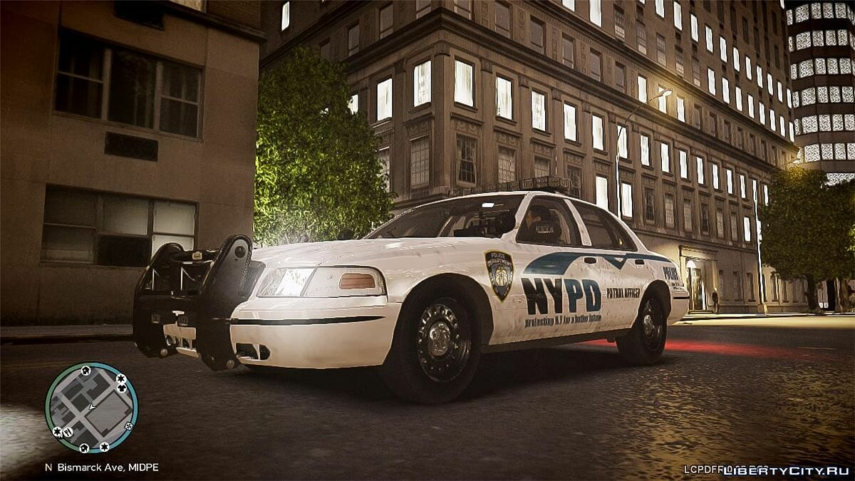 NYPD Ford Crown Victoria v2 для GTA 4
