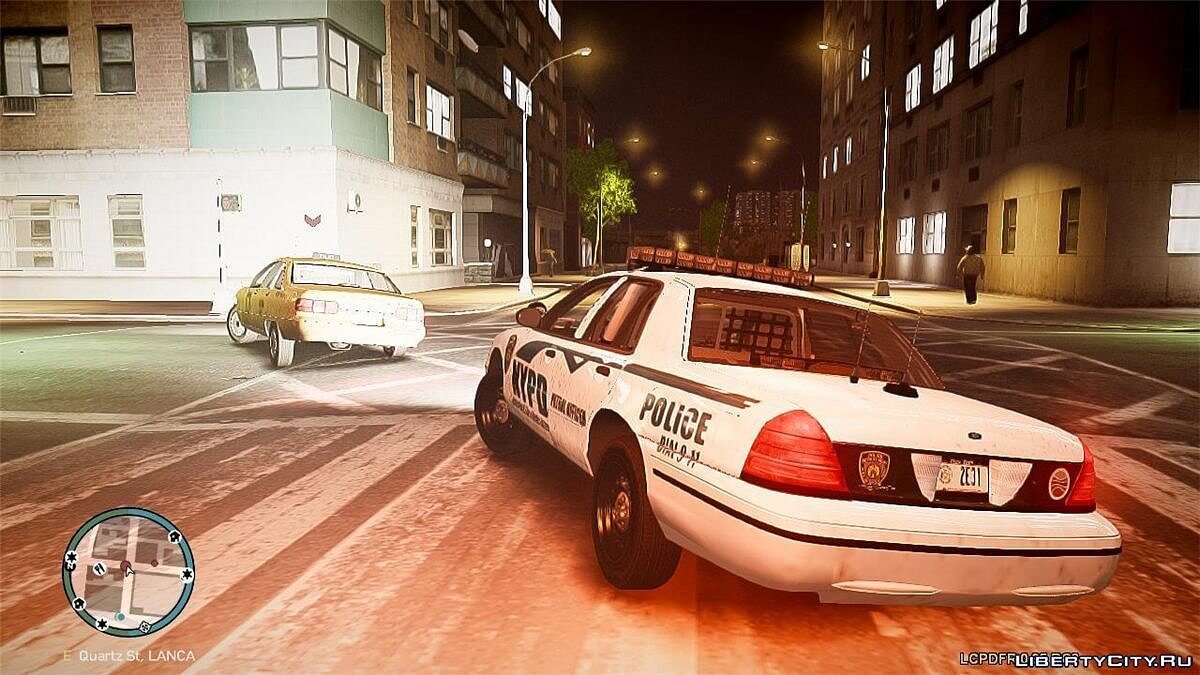 Машина полиции NYPD Ford Crown Victoria v2 для GTA 4