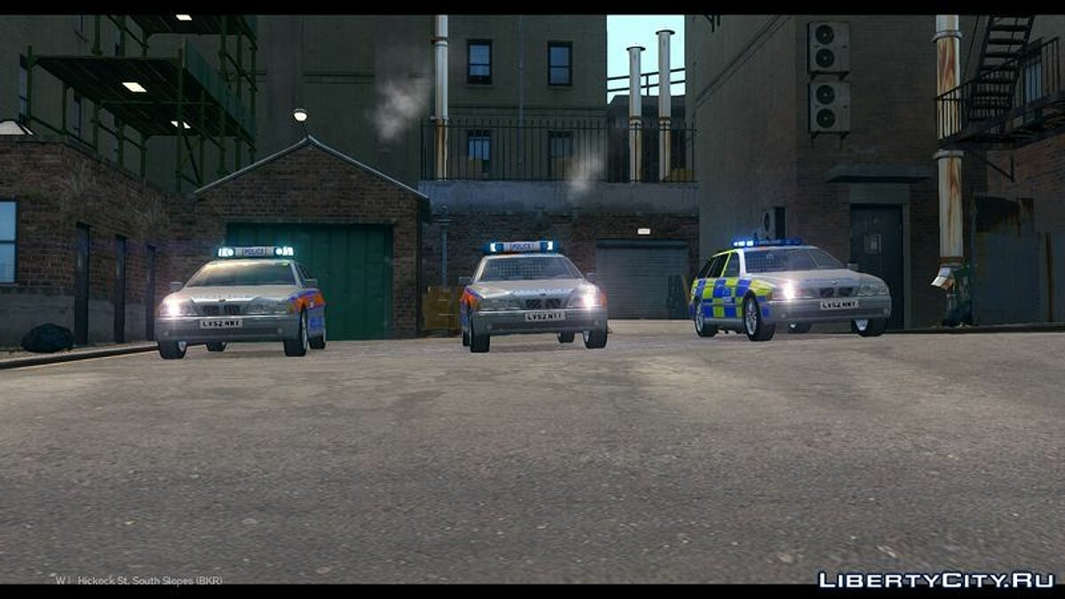 Met Police BMW 5 Series E39 Touring Pack для GTA 4