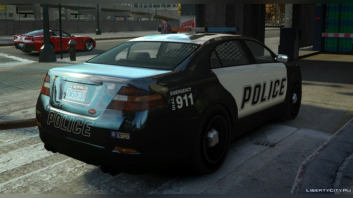 Машина полиции Vapid Police Interceptor из GTA 5 (Non-ELS) для GTA 4