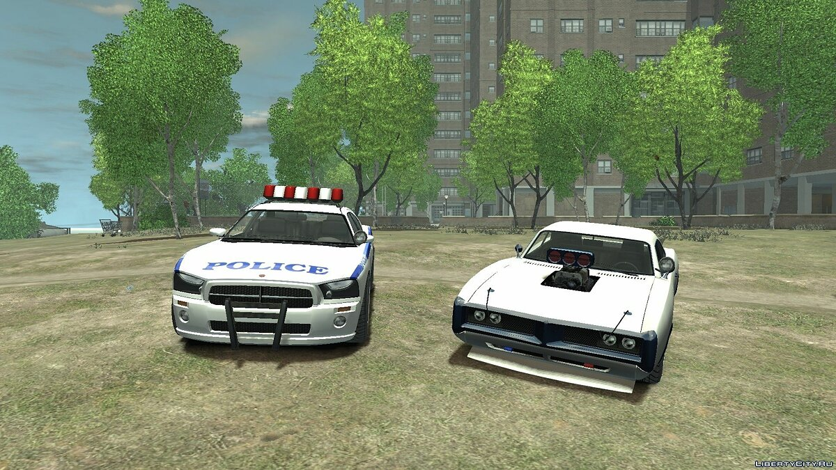 New Police Buffalo and Dukes [No ELS] для GTA 4
