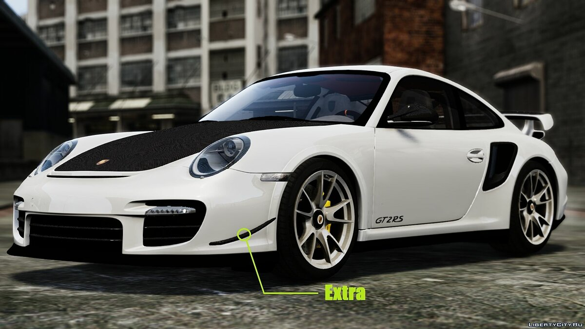 2012 Porsche 997 GT2 [Simple version] V1.0 для GTA 4 - скриншот #7
