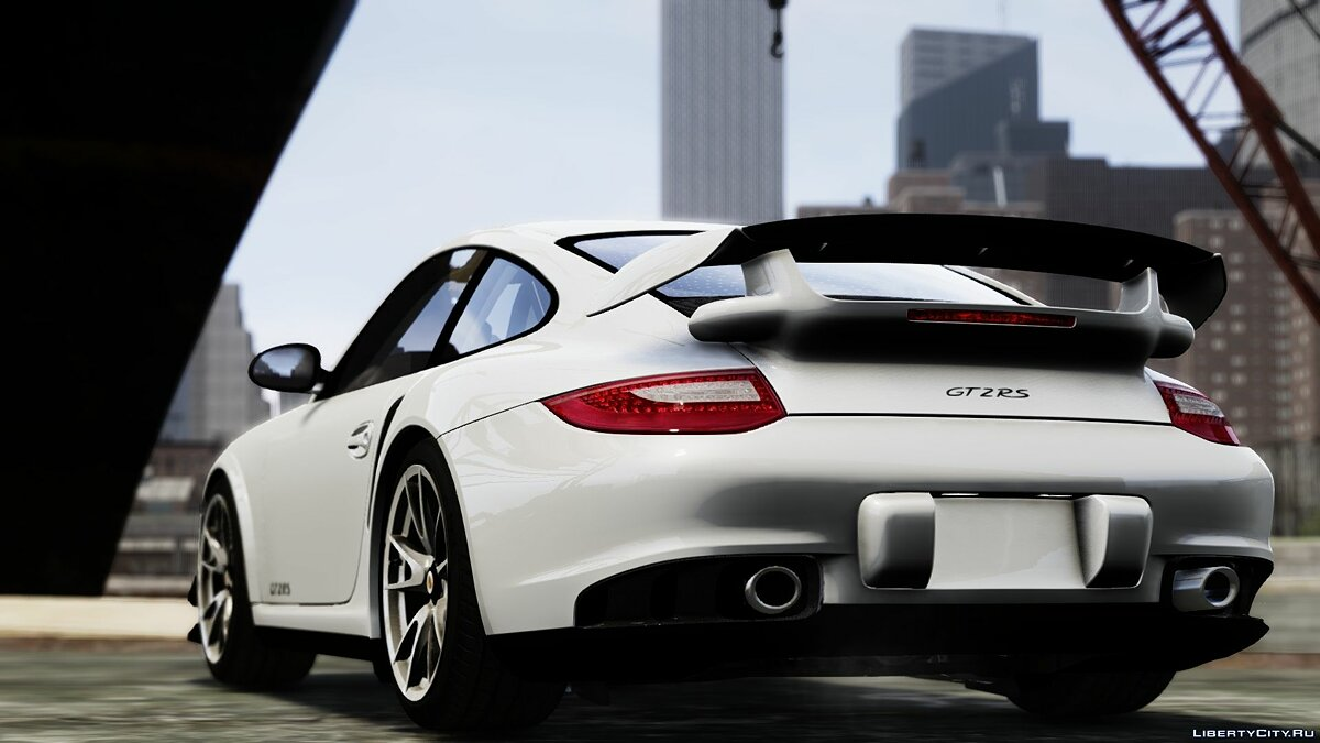2012 Porsche 997 GT2 [Simple version] V1.0 для GTA 4 - скриншот #3