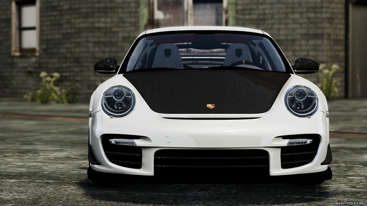 2012 Porsche 997 GT2 [Simple version] V1.0 для GTA 4 - скриншот #4