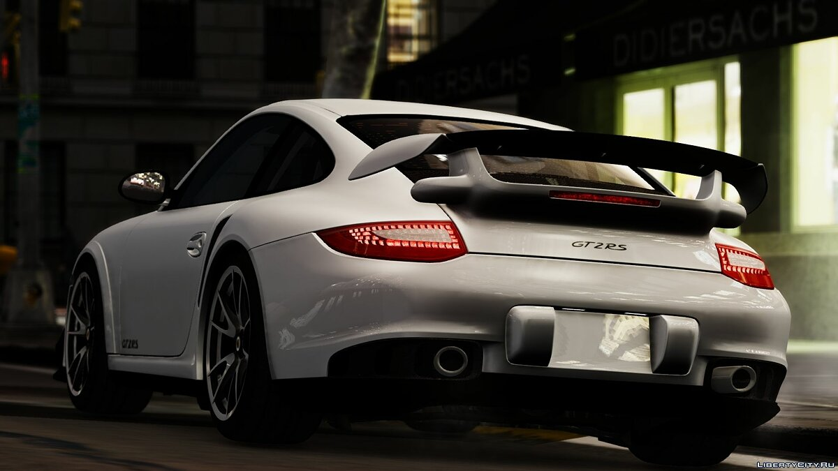 2012 Porsche 997 GT2 [Simple version] V1.0 для GTA 4 - скриншот #2