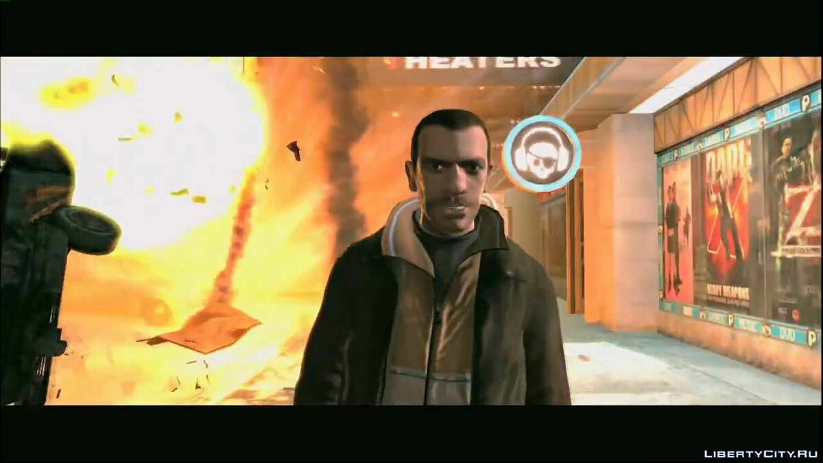 Реклама Grand Theft Auto: UK TV Ad для GTA 4