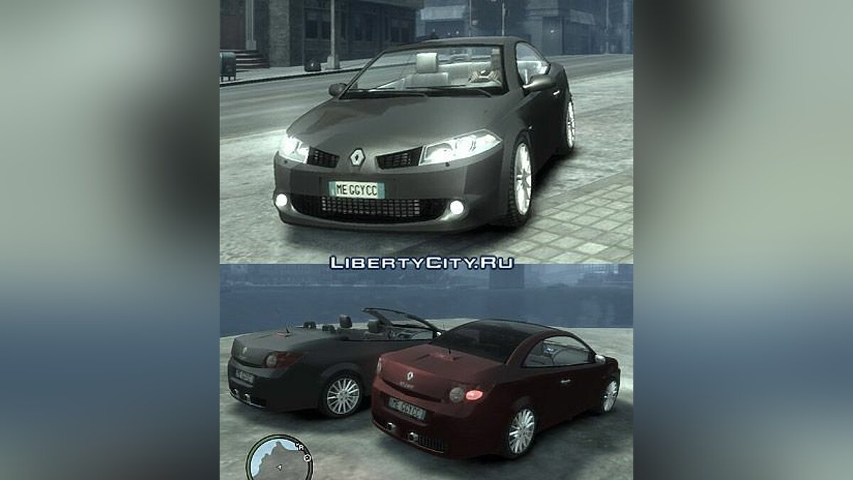 Renault Megane CC Kit RS для GTA 4