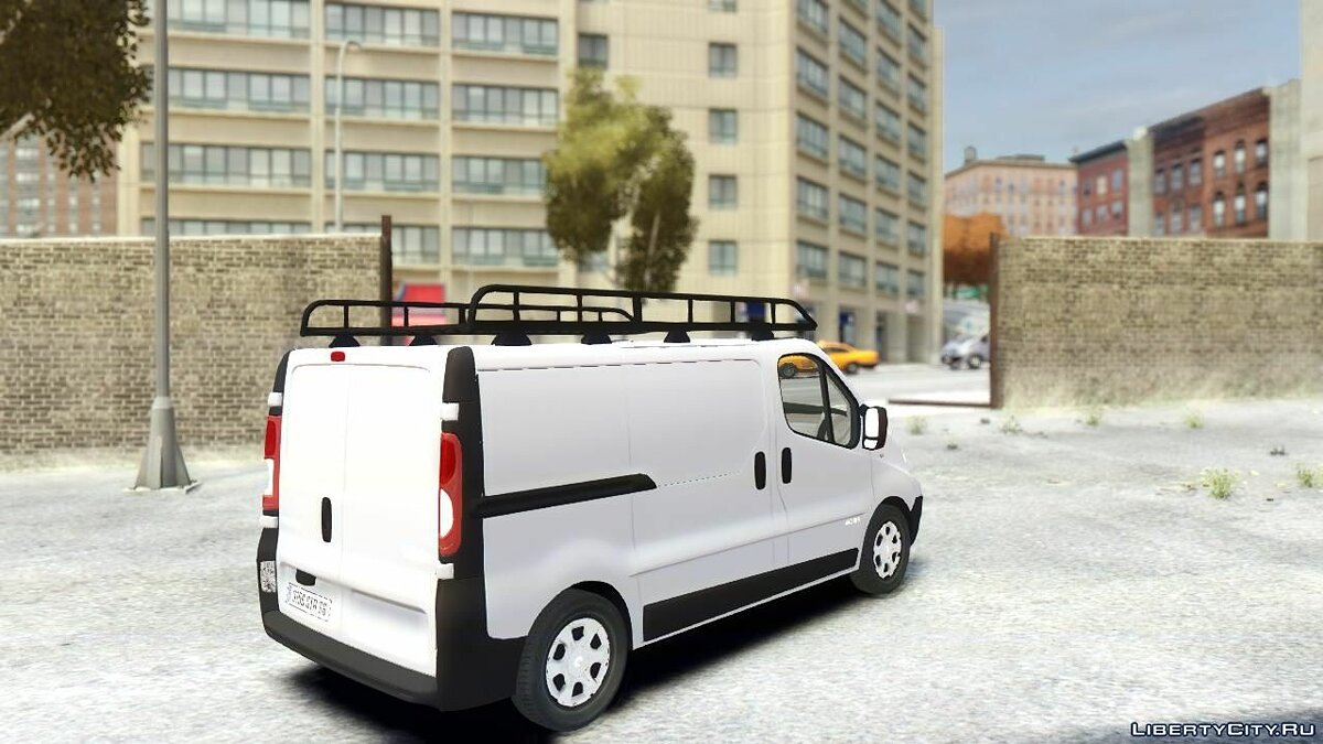 Renault Traffic Van для GTA 4 - скриншот #2