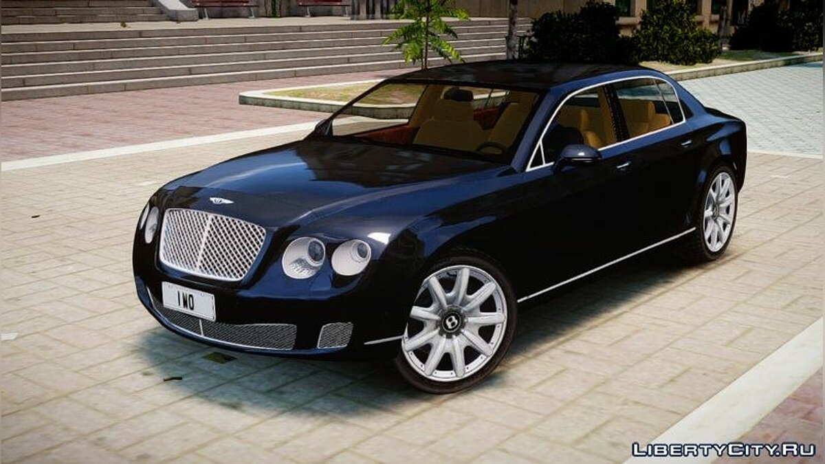 Машина Rolls-Royce 2010 Bentley Continental Flying Spur v2.0 для GTA 4