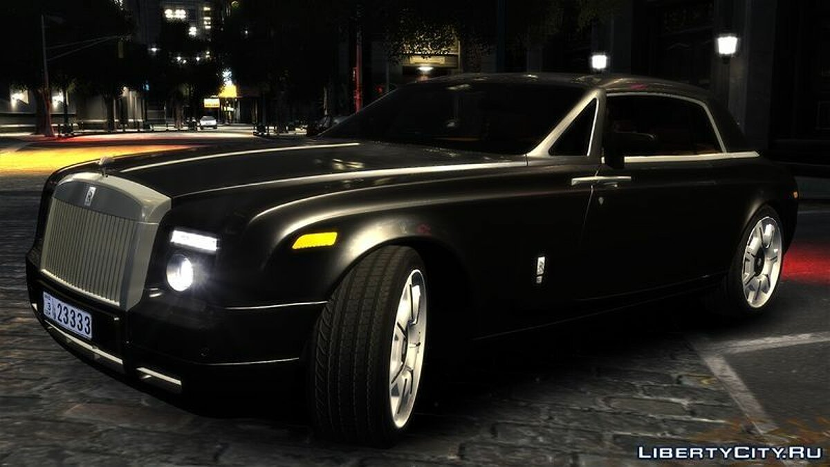 2009 Rolls-Royce Phantom Coupe v.1.0 для GTA 4