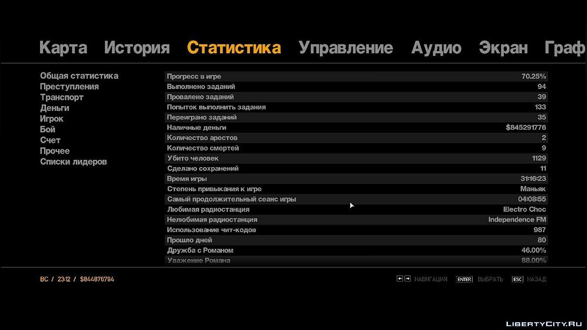 GTAIV Patch 1.0.4.0 Save для GTA 4 - скриншот #8